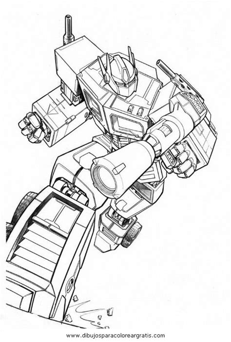 imagenes para colorear optimus prime dibujos transformers optimus prime 8