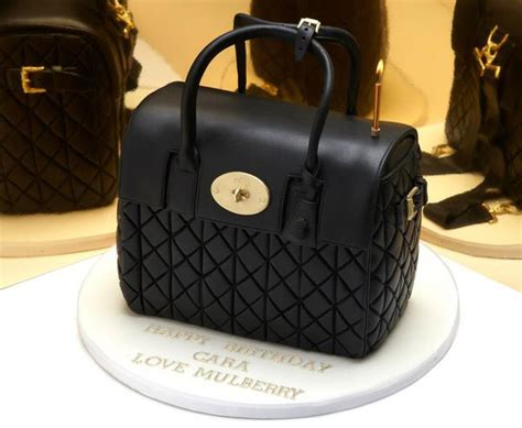 Mulberry Giles And Mulberry Collaboration Designer Handbags by Mulberry Got Cara Delevingne A Handbag Cake For