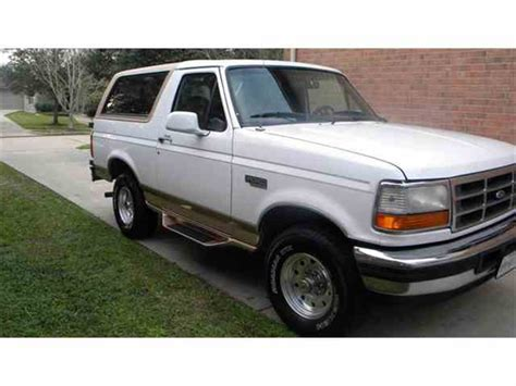 97 ford bronco classifieds for classic ford bronco 112 available