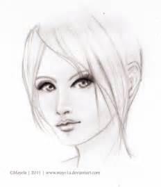 sketch face by maye1a on deviantart