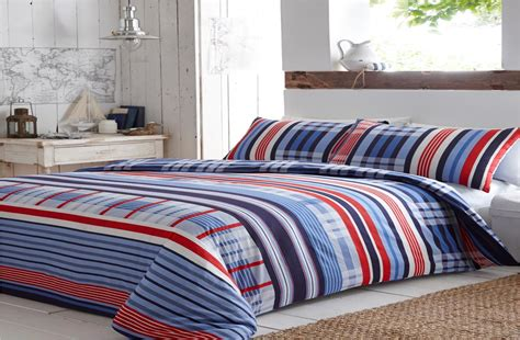 bed check checked striped quilt duvet cover pillowcase bedding