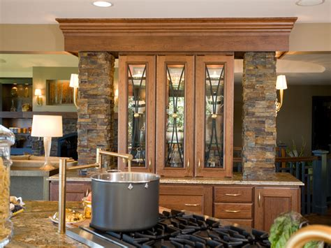 kitchen cabinet displays built in stone china cabinet hgtv