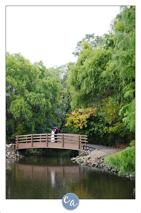 Garden Ridge Hilliard Wedding Portrait At Clague Park At Clague Road And