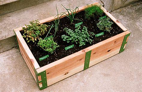 Patio Garden Kit by Patio Garden Sow In So Space Gardens