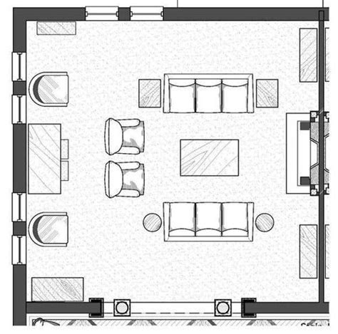 Floor Plans For Living Room Arranging Furniture | 202 best images about furniture arrangement on pinterest