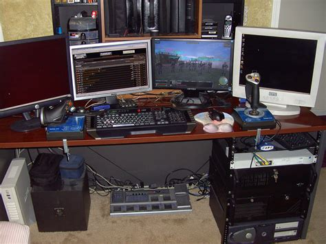 Home Office Gaming Setup Desks Headsetchatter Com