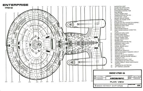 starship floor plan classified starfleet blueprints