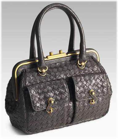 Bottega Veneta Sturzzo Intercciato Handbag bottega veneta struzzo intrecciato bag purseblog
