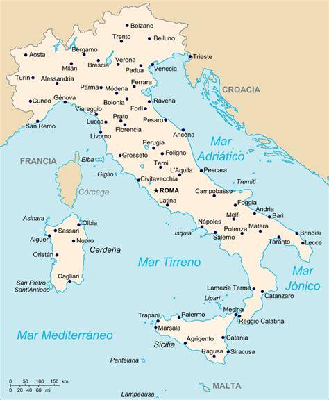d itala mapa de italia viajar a italia