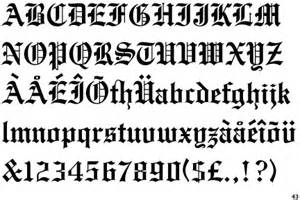If you re looking for free fonts unifraktur is a free blackletter one