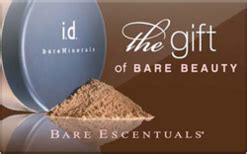 Bare Escentuals Gift Card - sell bare escentuals gift cards raise
