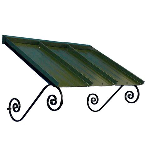 door awnings lowes shop americana building products 54 in wide x 36 in