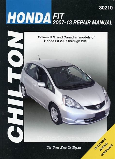 honda fit repair manual 2007 2013 haynes 42030 9781620921425