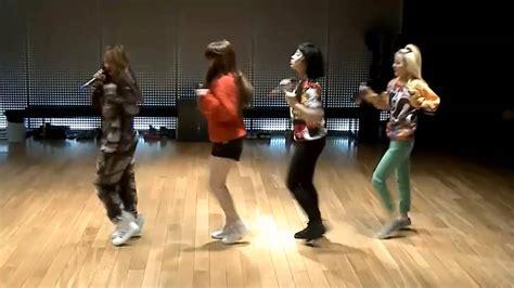 tutorial dance falling in love 2ne1 2ne1 do you love me mirrored dance practice youtube