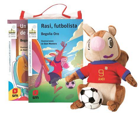 barco de vapor rasi pack de rasi futbolista literatura infantil y juvenil sm