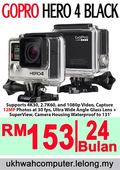 Harga Gopro gopro hero4 black orimalaysia harg end 2 17 2017 8 15 am