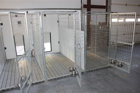 Indoor Outdoor Kennel Plans