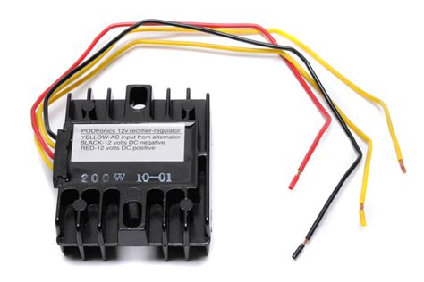 rectifier diode unit regulator rectifier unit single phase 12volt 200watt replaces problematic zener diode and