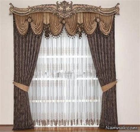 curtain rosettes creative pelmet with 3 swags each raised in center with