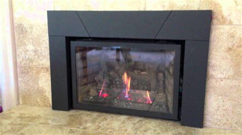 napoleon ir3n xir3n gas fireplace insert burn video