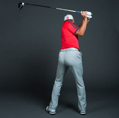 side view golf swing ruthless golf how sergio gets so much lag