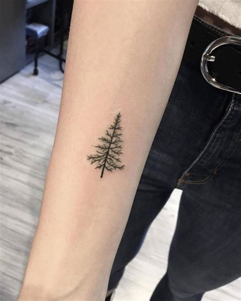tree line tattoo by giulia marotta done at eight lines milan http