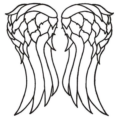 Wing Cut Out Shirt Template