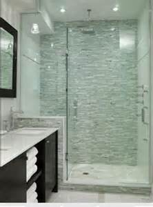 Glass Tile Accent Wall Bathroom Mosaic Tile Shower Accent Wall Hmmm Then I About