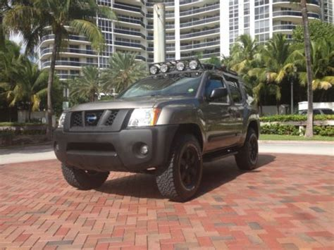 nissan xterra road tires find used 2005 xterra 4x4 road lifted amazing new