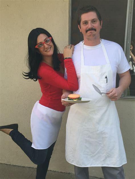 bobs burgers costume couple halloween bobs burgers