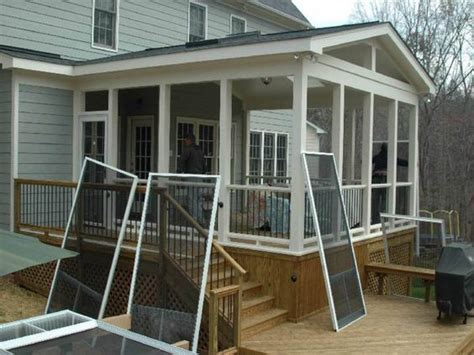 Screen Porch Plans Do It Yourself | porch ideas porches and porch designs on pinterest