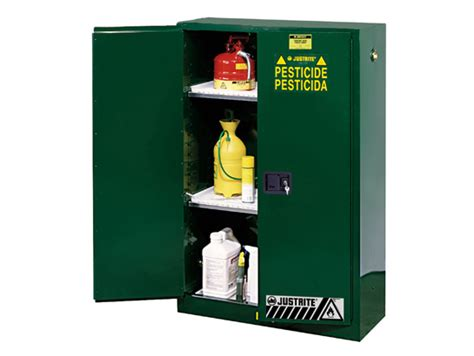Shelf Of Pesticides by Sure Grip 174 Ex Pesticides Safety Cabinet Cap 45 Gallons