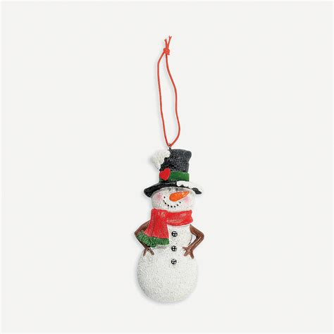 quot the meaning of the snowman quot christmas ornaments on card