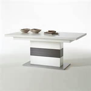 tisch weiss ausziehbar esstisch trento s 228 uelntisch tisch ausziehbar wei 223 und grau