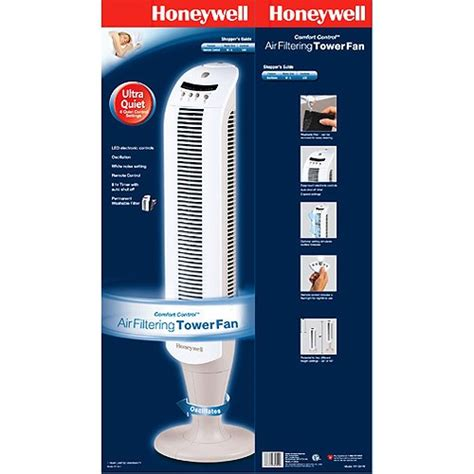 honeywell comfort control honeywell air filter comfort control tower fan remote ebay