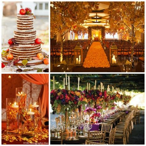 wedding ideas for fall beautiful fall wedding ideas b lovely events