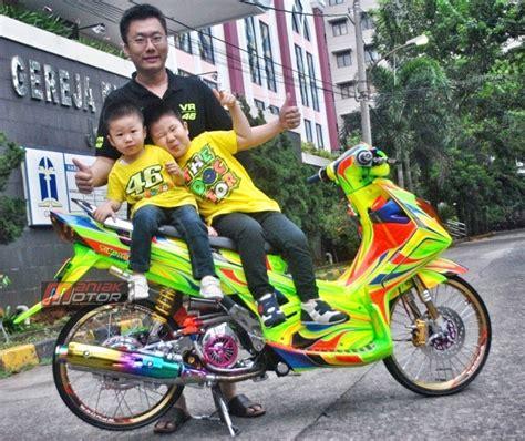 Tameng Depan Nouvo Z Original 1 modifikasi yamaha nouvo z tomo speed shop langganan juara juga loh portal sepeda motor dan