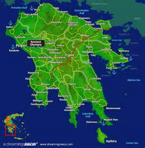 Olympia Greece Map by Holidays In Ancient Olympia Greece Vacations Greece