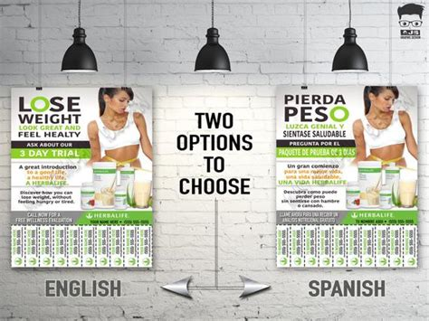 Herbalife Flyer Custom Print Ready English Or By Ajsgraphdesign Herbalife Flyer Template