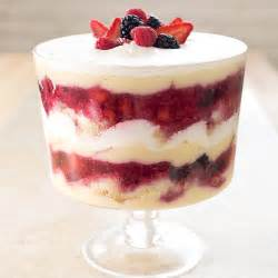 summer berry trifle recipe cook s illustrated