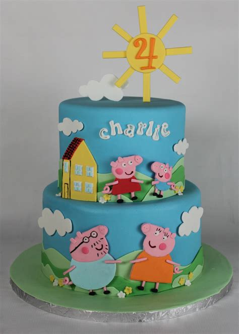 Best Home Design Gallery by Peppa Pig Birthday Cake Lil Miss Cakes