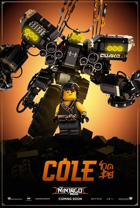 ninjago film the lego ninjago movie 2017 poster 7 trailer addict