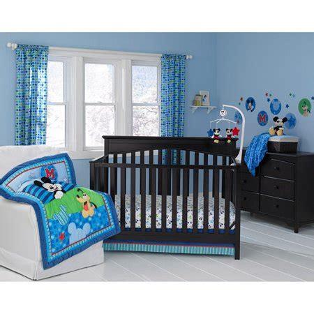 disney nursery bedding sets disney baby mickey mouse best friends 3 crib bedding set walmart