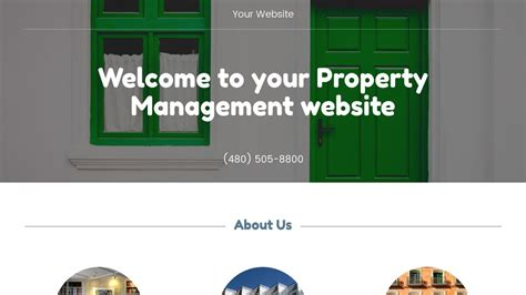 Exle 14 Property Management Website Template Godaddy Property Management Website Templates