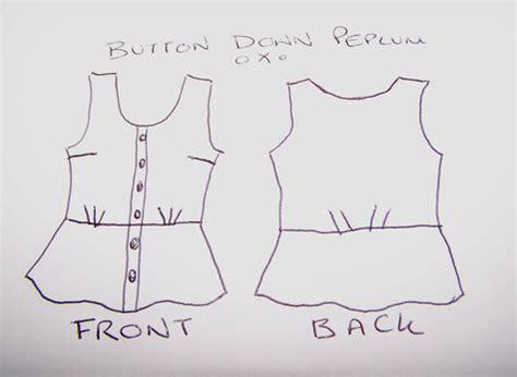 187 free blouse sewing patterns free peplum blouse sewing pattern sewing projects