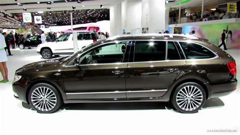 2013 skoda superb combi l k at 2012 auto show
