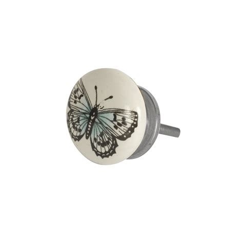 Bombay Duck Door Knobs by Bombay Duck Butterfly Ceramic Drawer Knob Bombay Duck