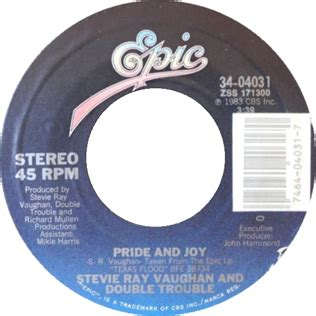 pride  joy stevie ray vaughan song wikipedia