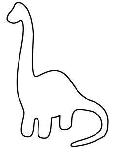 easy dinosaur  toddlers coloring page  link