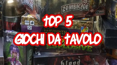 top giochi da tavolo giochi da tavolo top 5